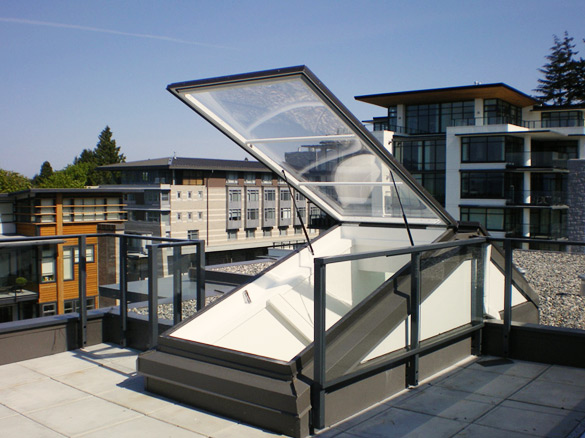 Dayliter Skylights - Roof Door Acrylic & Roof Doors - Acrylic | Roof Doors