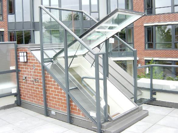 Dayliter Skylights   Roof Door Glass