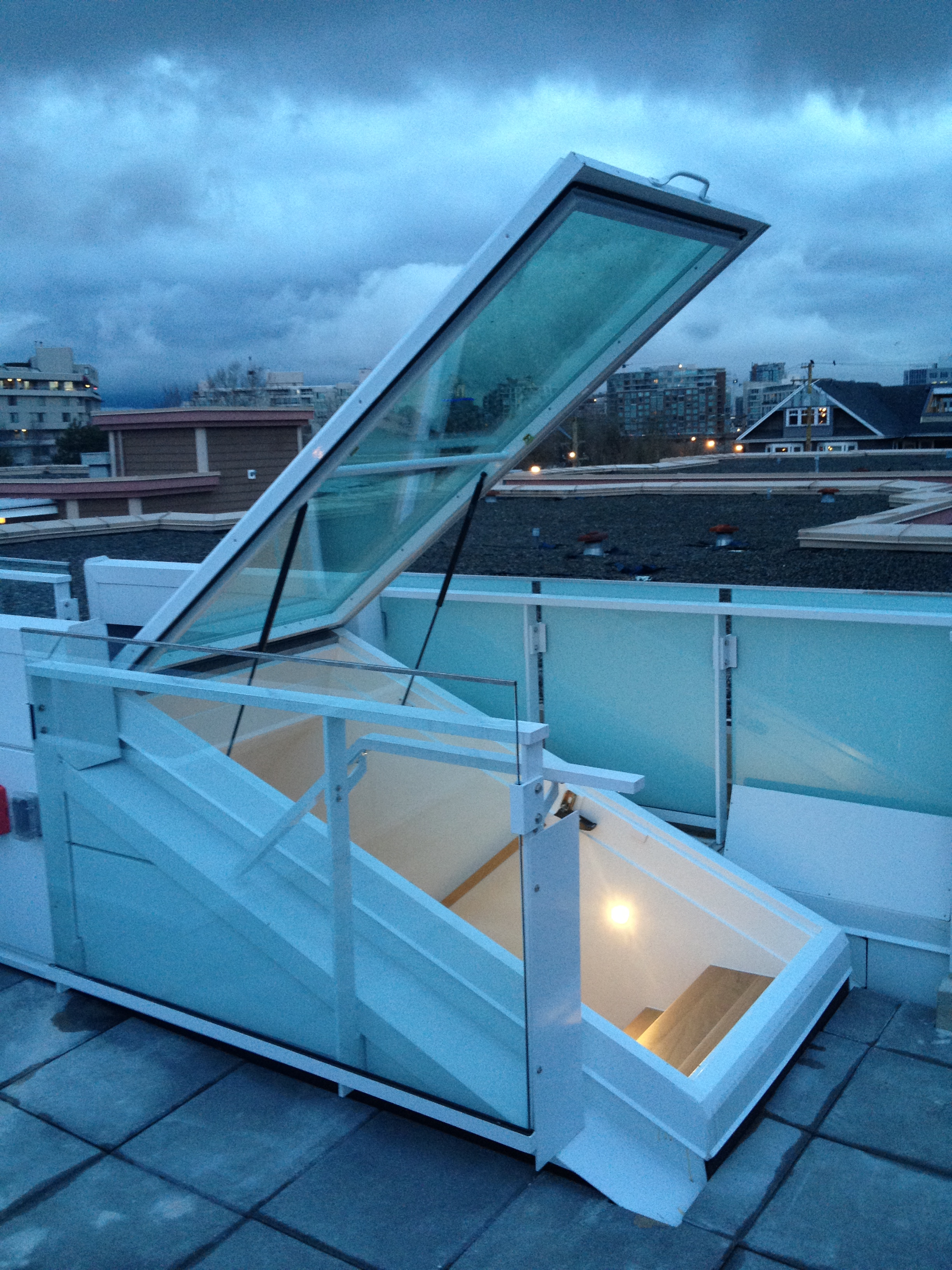 Roof Doors Glass Roof Doors